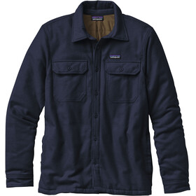 Patagonia Insulated Fjord Flannel Jacket Herre navy blue